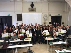 """14-15 Dicembre 2018 Master Internazionale di Ortognatodonzia dell'Università degli Studi della Campania """"L. Vanvitelli""""diretto dalla Prof.ssa L. Perillo a Napoli"""