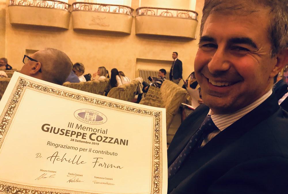 22 Novembre 2019 Congresso III Memorial Dott. Giuseppe Cozzani